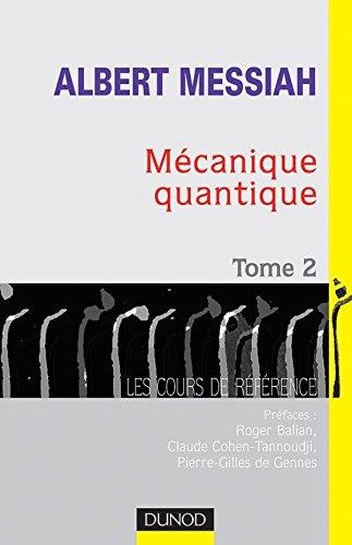 9782100046959: Mécanique quantique
