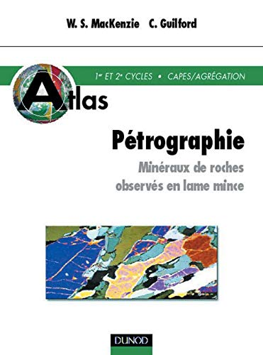 9782100054596: Atlas of the Rock-forming Minerals in Thin Section