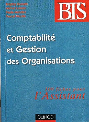 9782100054909: Comptabilité et gestion des organisations