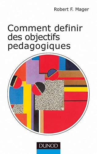9782100055067: Comment définir les objectifs pédagogiques