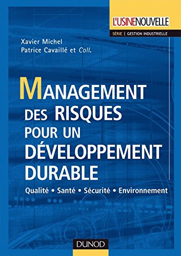 9782100055210: Management des risques pour un developpement durable (French Edition)