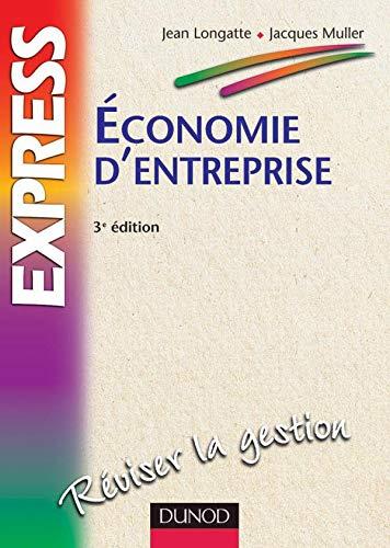 9782100055920: Economie d'entreprise, 3e édition