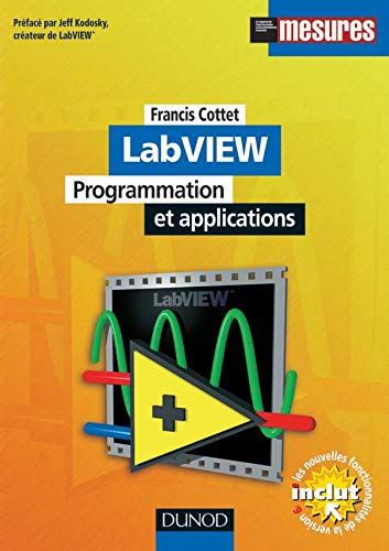 9782100056675: LabVIEW : Programmation et applications