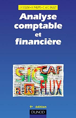 9782100057566: Analyse comptable et financière