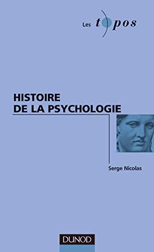 Histoire de la psychologie: Nicolas, Serge