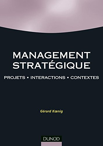 9782100064243: Management strat�gique