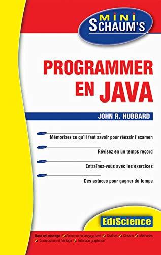 Programmer en Java (9782100065127) by John R. Hubbard