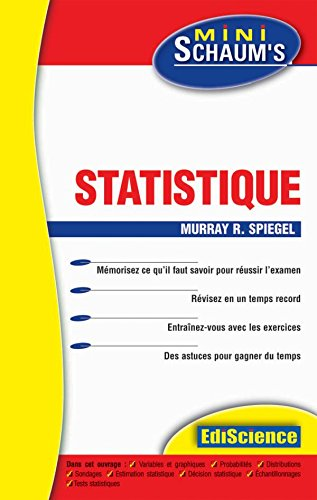 Statistique (Mini Schaum's): Murray R. Spiegel