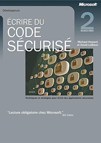 9782100067503: Ecrire du code s�curis�