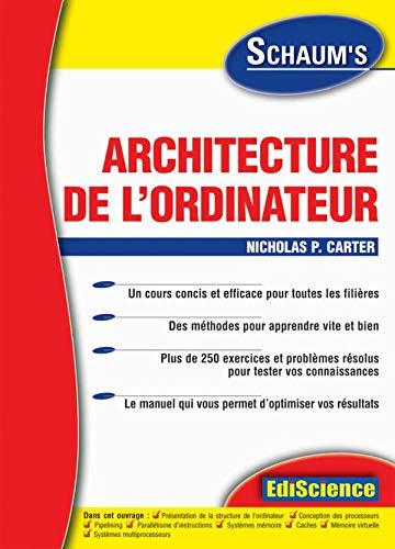 9782100068258: Architecture de l'ordinateur