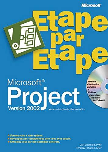 9782100068968: Microsoft Project 2002 (avec CD-Rom)