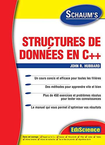 Structures de données en C++ (9782100069385) by John R. Hubbard
