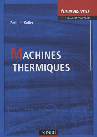 9782100070077: Machines thermiques (French Edition)
