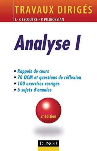 Analyse I : Travaux dirigàs [Jul: Jean-Pierre Lecoutre