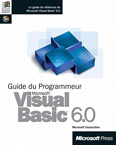 9782100072330: Guide du programmeur visual basic 6.0