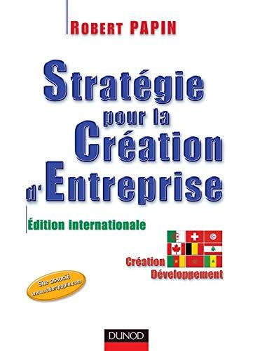 9782100072941: Strategie pour la creation d'entreprise édition internationale