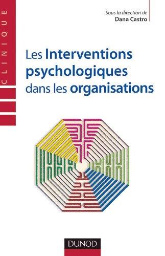 9782100073153: Les interventions psychologiques dans les organisations