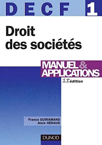 9782100075041: DECF, num�ro 1 : Droit des soci�t�s