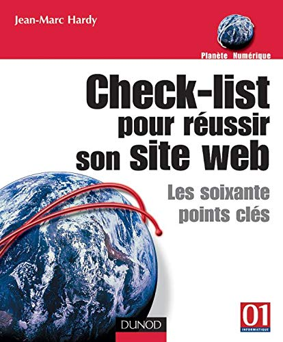 9782100075188: Check-list pour réussir son site web : Les soixante points-clés