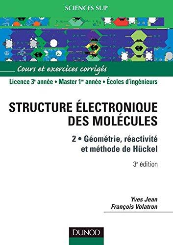 9782100079216: Structure electronique des molecules (French Edition)