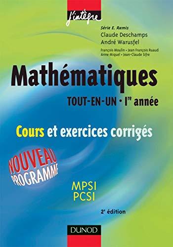 9782100079445: Math�matiques