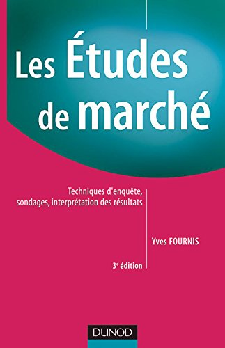 9782100082636: Les �tudes de march�