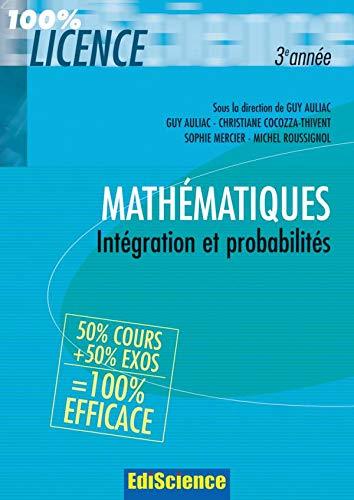 9782100483341: Mathématiques : Intégration et probabilités
