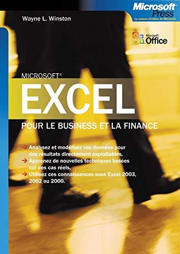 9782100484652: Excel pour le business et la finance - livre de r�f�rence - fran�ais