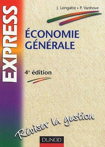 9782100488100: Economie générale
