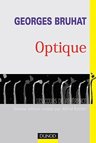 Georges Bruhat : Optique: Georges Bruhat