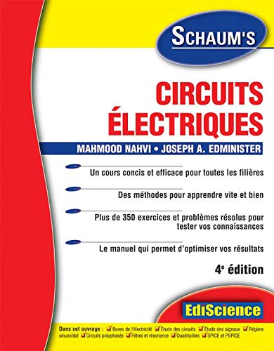 9782100489114: Circuits electriques (French Edition)