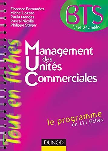 9782100490172: Management des unit�s commerciales BTS