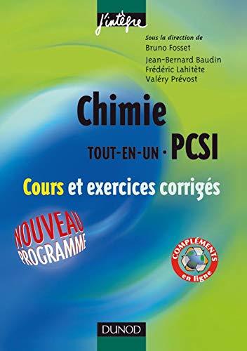 9782100491223: Chimie Tout-en-un 1ère année PCSI : Cours et exercices corrigés