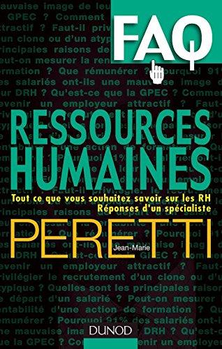 Ressources humaines : Tout ce que vous: Jean-Marie Peretti