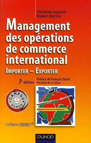 9782100493074: Management des op�rations de commerce international : Importer-Exporter