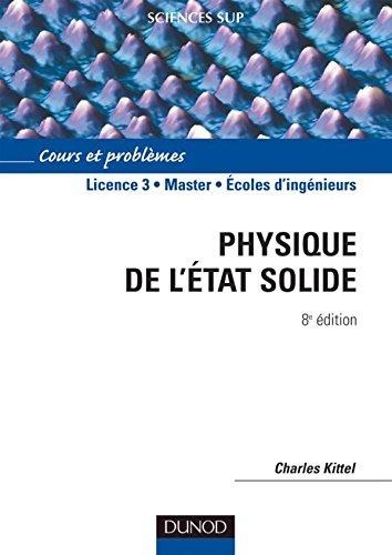 9782100497102: Physique de l'état solide : Cours et problèmes