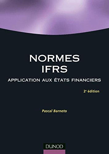 9782100499038: Normes IFRS : Application aux �tats financier