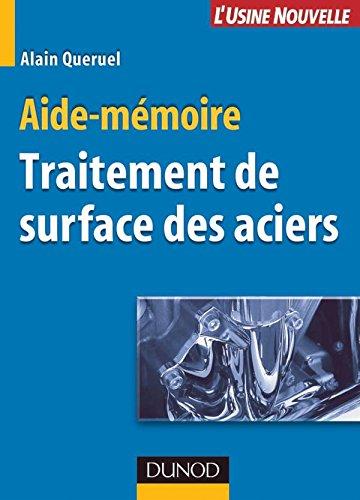 9782100499755: Traitement de surface des aciers : Aide-m�moire