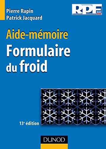 9782100499939: Aide-mémoire Formulaire du froid