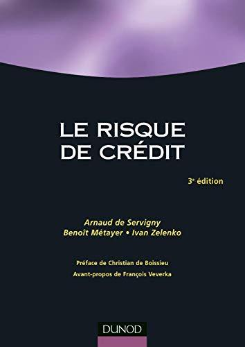 9782100500093: Le risque de crédit