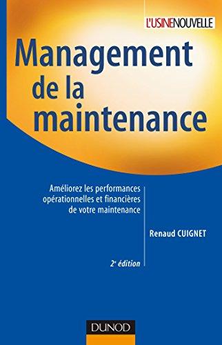 9782100501595: Management de la maintenance