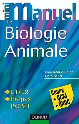 9782100505661: Mini manuel de biologie animale : Cours + QCM