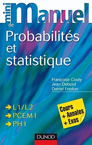 9782100507139: Mini manuel de probabilités et statistique (French Edition)