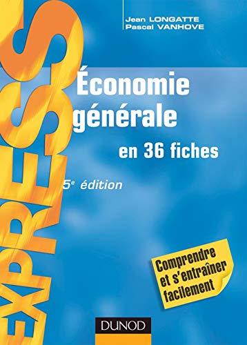 9782100507825: Economie générale (French Edition)