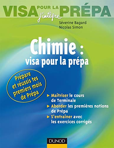 9782100508754: Chimie : visa pour la prépa