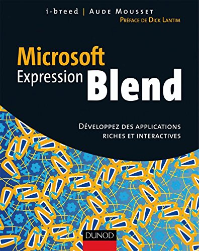 9782100508785: Microsoft Expression Blend