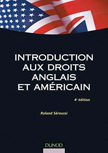 9782100510085: Introduction aux droits anglais et américain