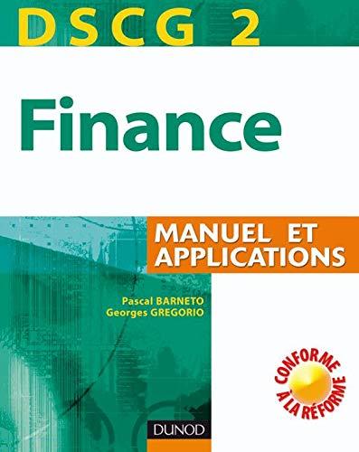 9782100510962: Finance DSCG 2 : Manuel et applications