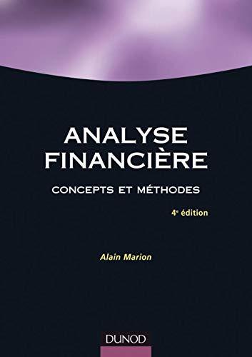 9782100513420: Analyse financi�re : Concepts et m�thodes