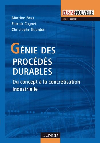 9782100516056: Genie des procedes durables (French Edition)
